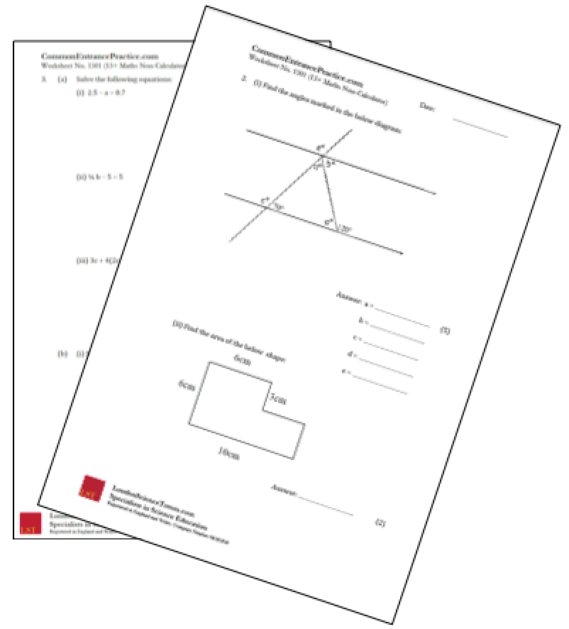 Worksheet image for CEP Website